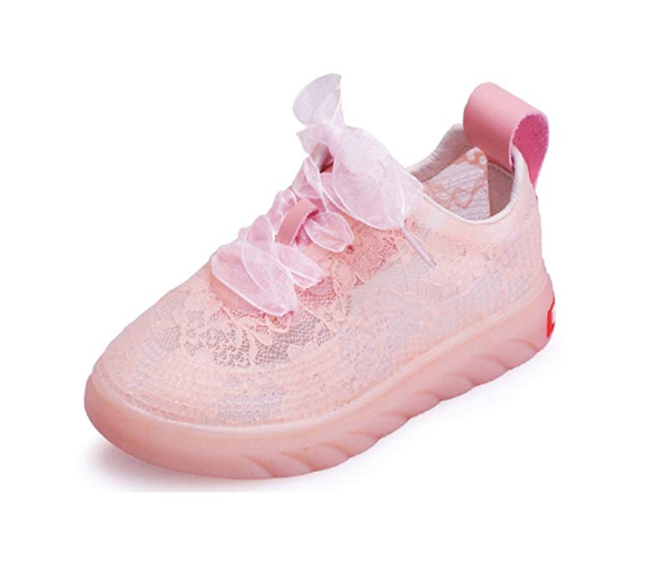 Kids lace sneakers
